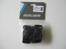 "Bauer Hockey Goalie Pads 1"" Quick Release Buckles! 4 Pack, New Black Ice Roller"
