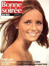 ▬►BONNE SOIRÉE Télé 2631 de 1972 ADAMO (4 pages)_GILBERT MONTAGNÉ_KIRAZ