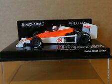 Minichamps 1:43 Giacomo Agostini Williams FW06 Race of Champions 1979 + decals