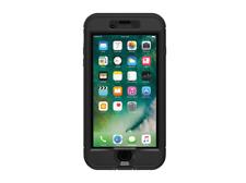 Funda Iphone 7 y 8 Plus LifeProof Nuud, Negro, WATERPROOF
