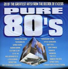 Pure 80's - Pure Series (1999, CD NIEUW) Buggles/Level 42/Fixx/Squeeze