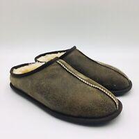 Kirkland Shearling Men/'s Slippers Black 7885231