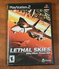 Lethal Skies Elite Pilot: Team SW (Sony PlayStation 2, 2002) 100% Complete - LN