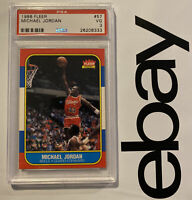 Michael Jordan ROOKIE PSA 3 Fleer Collector 1986 INFLATION HEDGE #57 Investment!