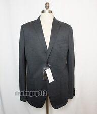 Uniqlo Gray Mens Light Weight Summer Unstructured Knit Blazer Sport Coat Sz S