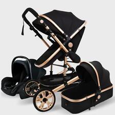 Baby Stroller 3 in 1 Portable Newborn Infant Cradle Bassinet Car Seat Basket