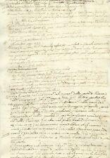 Manoscritto Studio Popolazione d'Italia Storia Antica e Moderna Venezia e Padova