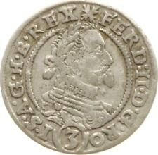 RDR, Ferdinand II., Schlesien, 3 Kreuzer 1630 PH (Peter Hema), Breslau