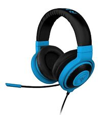 Razer Kraken PRO Analog Gaming Headset for PC and Music Neon Blue