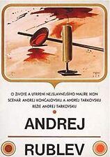 ANDREI RUBLEV Amazing Original Czech Poster ANDREI TARKOVSKY