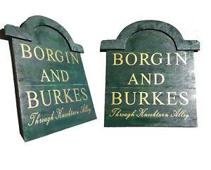 Borgin & Burkes - Customizable Sign