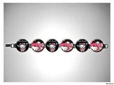 Hello Kitty Zombie Horde 8 inch bracelet w/fold over clasp