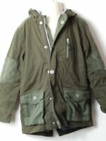 GIRLS NEXT AGE 5-6 YEARS KHAKI HOODED PARKA COAT JACKET KIDS