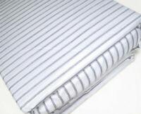 Home Collection Sutton Lane Cotton Rich Percale Ticking Stripe King Sheet Set