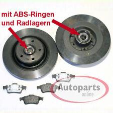 Renault Megane 3 III - Bremsscheiben Bremsbeläge für hinten die Hinterachse