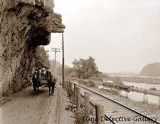 Hanging Rock on Susquehanna River, Danville, Pennsylvania - Historic Photo Print