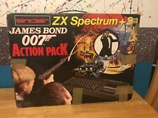 Sinclair ZX Spectrum +2 128k James Bond 007 Action Pack Original Box working