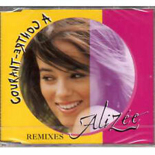 "☆ MAXI CD ALIZEE ""A contre courant"" Remixes 4 tracks NEW SEALED / Neuf scellé  ☆"