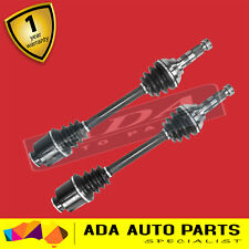 2 x NEW FRONT CV JOINT DRIVE SHAFT  TO SUIT SUBARU BRUMBY 82-94