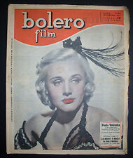 BOLERO FILM 140/1950 PAULA VALENSKA TYRONE POWER IDA LUPINO ANN SHERIDAN JONES