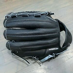Nike BSBL Hyperfuse Elite Pro MVP Baseball Black Glove Left Hand Throw Size 12.0
