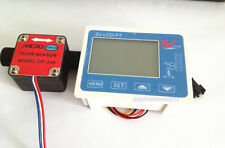 NEW Boat Marine Fuel Oil Flow meter with 1/2'' diesel gasoline Gear flow sensor