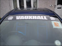 Vauxhall corsa astra car sticker sunstrip logo vinyl graphics decals sri sxi