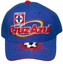 NEW!! Cruz Azul Futbol Club Adjustable Back Hat 3D Embroidered Cap - La Máquina