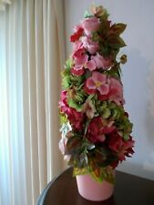 """Spring Table top Floral Tree Potted 22"""" Pier 1 Table Decor"""