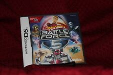 Hot Wheels Battle Force Nintendo DS New Sealed Free Shipping