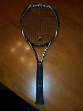 DUNLOP Biomimetic Black Widow Tennis Racket 4 ½. Control! Spin! Jr -intermediate