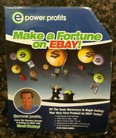 E Power And Profits Make A Fortune On Ebay By Chuck Woolery 2002 Cd S Vhs Ebay
