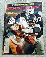 Sports Illustrated January 1975 Franco Harris Pittsburgh Steelers