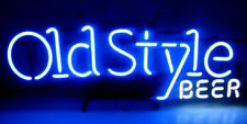 """New Old Style Bar Beer Man Cave Bar Neon Light Sign 20""""x8"""""""