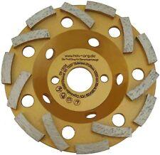 125 mmØ TURBO Diamant Schleiftopf - Schleifteller für Estrich Beton Betonplatten