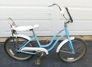 "1970s Schwinn Banana Seat Muscle Bike Girls 20"" LiL Chik Stingray"