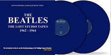 """The Beatles The Lost Studio Tapes 1962 '64 New Sealed 2 x 10"""" Blue Vinyl INSTOCK"""