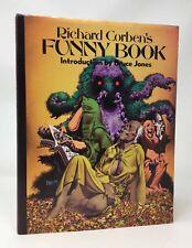 RICHARD CORBEN'S Funny Book Signed HB/DJ