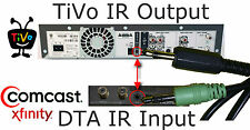 TiVo to DTA / Cable Box Infrared (IR) Direct Connect Cable. Replaces IR Blaster!