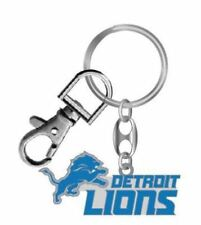 Detroit Lions Keychain NFL Heavyweight Key Ring Aminco