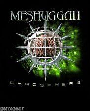 MESHUGGAH cd cvr CHAOSPHERE Official Black SHIRT SMALL new