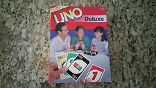 Vintage UNO Deluxe Game #01 - 2000 Mattel - Never Used - Collector!
