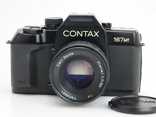Contax 167MT #048733 + Carl Zeiss Planar 1,7/50mm T* #7302851   si252