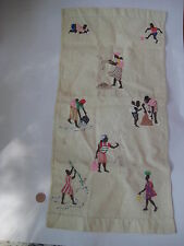 vintage handmade African TEXTILE old cloth soccer fishing tribal haiti ? antique