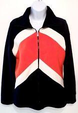 RALPH LAUREN Womens Fleece Jacket zip Front size M
