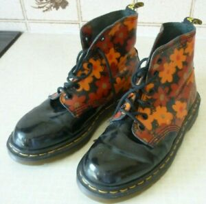 Dr Martens Air Wair Floral Boots size 5