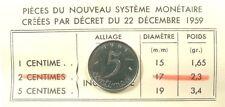 ~~ 5 Centimes 1961 - Essai - Quasi SPL ~~