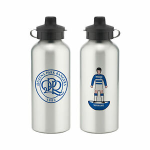 PERSONALISED QPR FC Gifts - Player Figure Water Bottle - Official