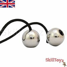 Begleri Skill Toy Polished Stainless Steel Beads - Choice of Paracord - UK SHOP