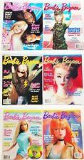 Barbie Bazaar The Barbie Collector's Magazine Lot Of 6 (2)